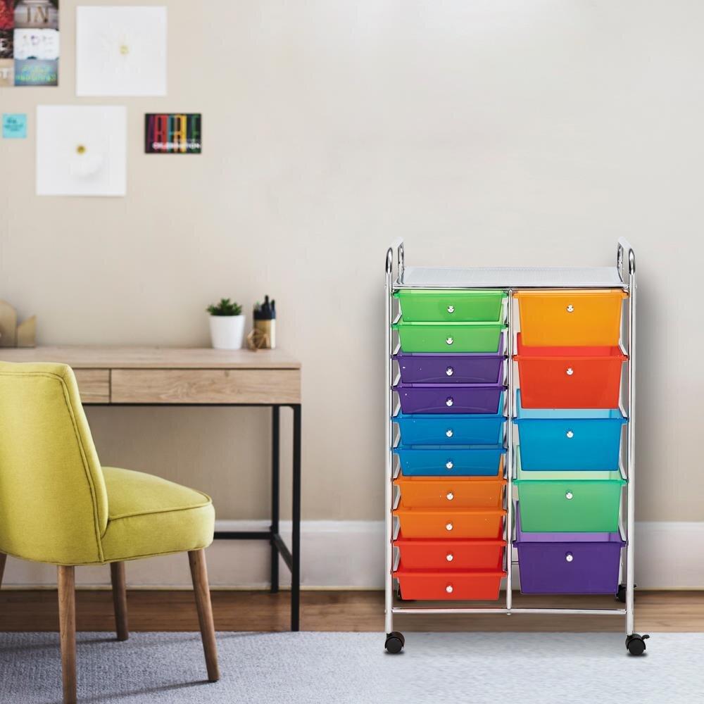Blue Storage Carts Storage Drawers You Ll Love In 2021 Wayfair