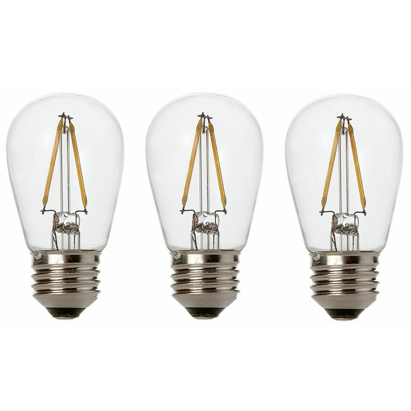 11W E26/Medium (Standard) LED Vintage Filament Light Bulb