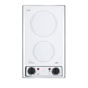 Radiant 20'' Elctric Cooktop with 2 Burners