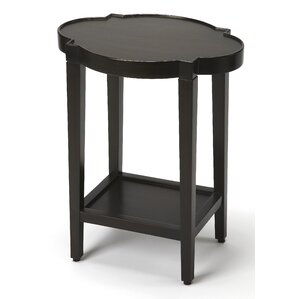 Danette Quatrefoil End Table