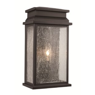 Gracie Oaks George 1-Light Outdoor Flush Mount