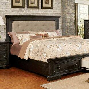 Benford Queen Upholstered Storage Platform Bed