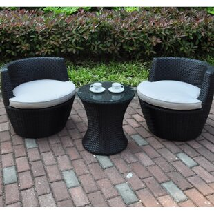 Anthonyson 3 Piece Conversation Set with Cushions