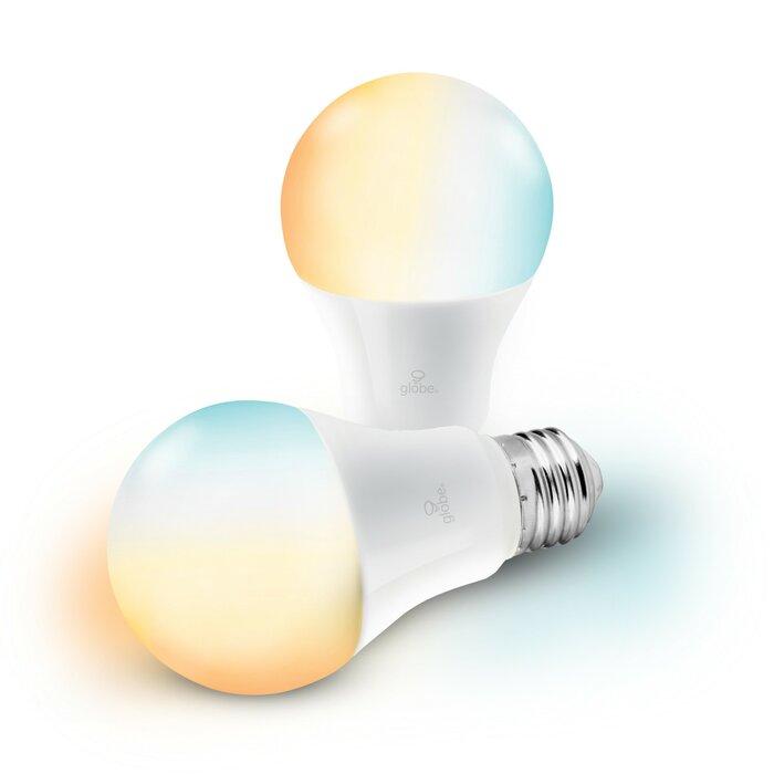 10 Watt 60 Equivalent A19 Led Smart Dimmable Light Bulb Warm White 3000k E26 Medium Standard Base