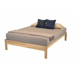 nomad plus platform bed by kd frames - Wood Platform Bed Frame Queen