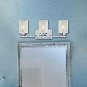 Best Reviews Hansen 3-Light Vanity Light By Westinghouse Lighting