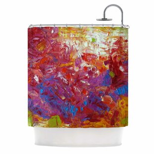 Sonoran Fantasy by Jeff Ferst Abstract Single Shower Curtain