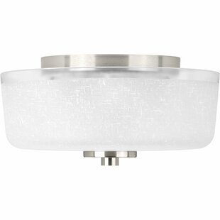 Ebern Designs Nash 2-Light Flush Mount