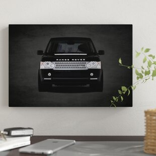 'Range Rover' Graphic Art Print on Canvas By East Urban Home