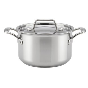 Thermal Pro™ Clad Stainless Steel Stock Pot with Lid