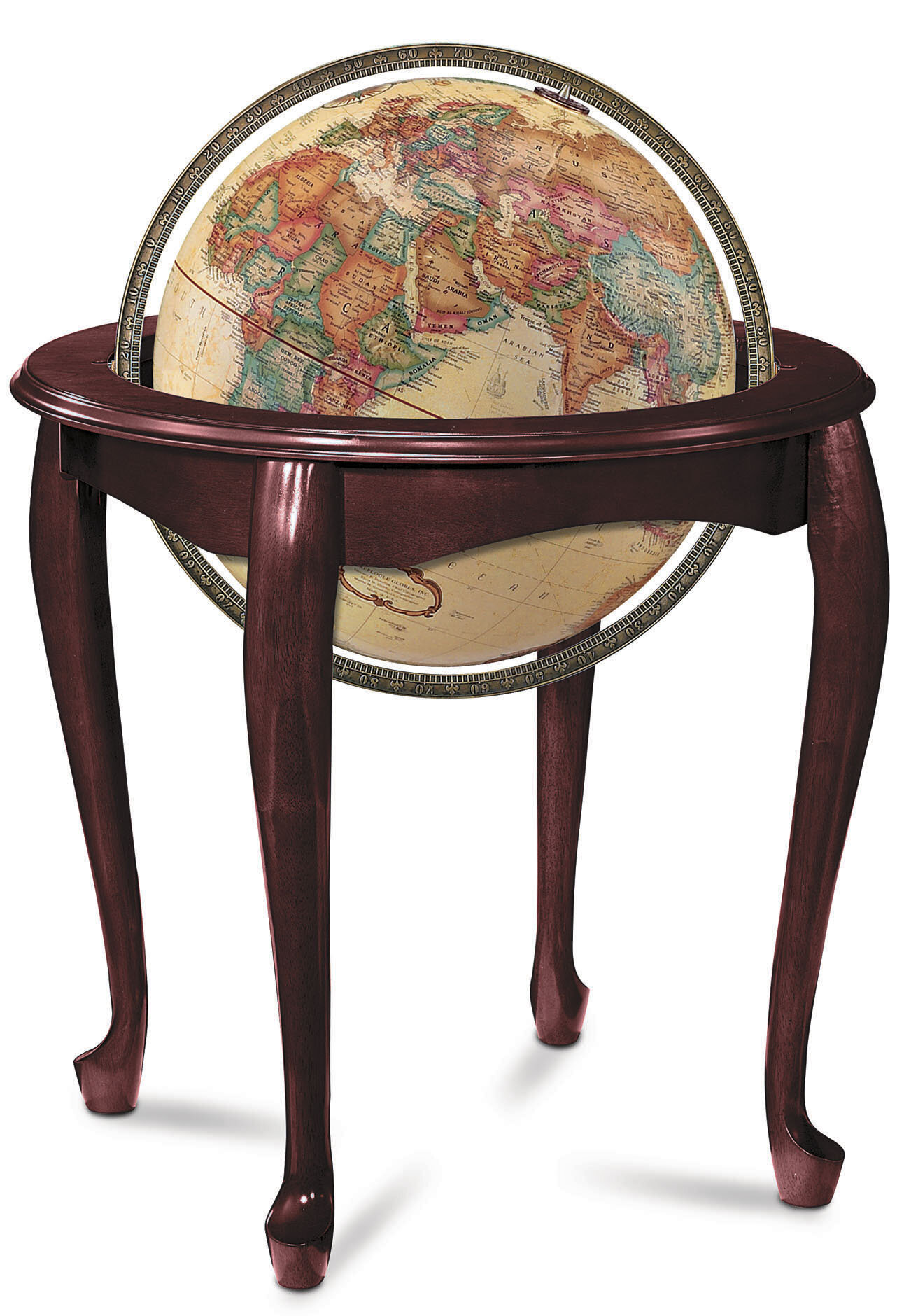 Replogle Queen Anne Antique World Globe & Reviews