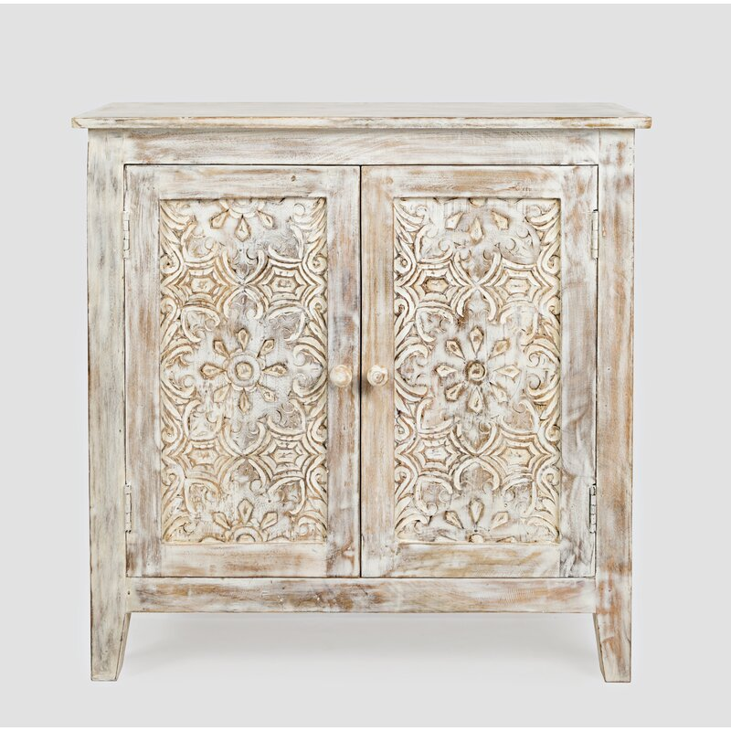 Bell 2 Door Accent Cabinet from Kelly Clarkson Home collection - come see more French country decor and furniture goodness on Hello Lovely! #frenchcountry #furniture #homedecor #kellyclarksonhome #cabinet