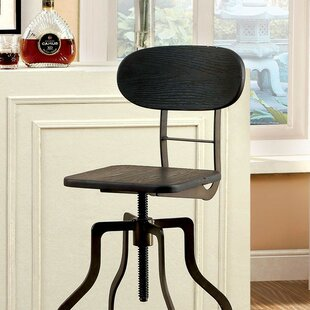 Coupon Tracie Height Adjustable Swivel Bar Stool by Williston Forge Reviews (2019) & Buyer's Guide