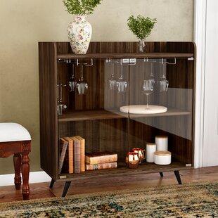 Octavio Glass Door Bar Cabinet