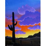 Desert Sunset Art Wayfair