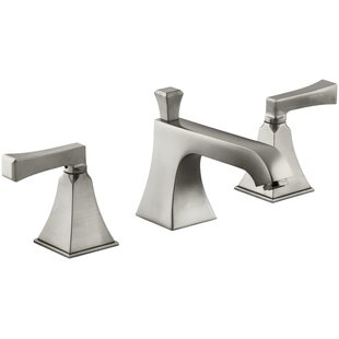 Bargain Memoirs Stately Widespread Bathroom Faucet with Drain Assembly By Kohler