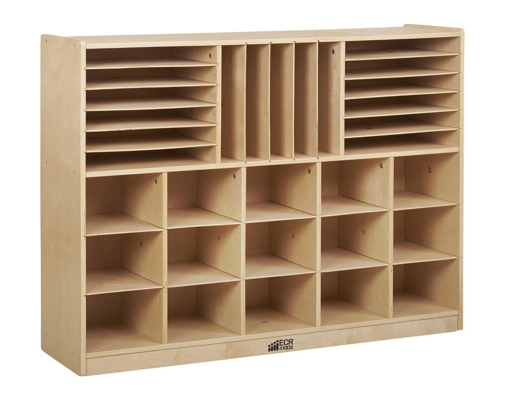 Ecr4kids Multi Section Storage Cabinet 32 Compartment