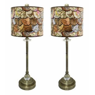 Bettencourt Crystal 28 Buffet Lamp (Set of 2)