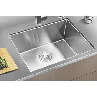 Stainless Steel 33 L X 20 W Undermount Kitchen Sink By Eviva Best Deals