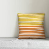 Khoury Abstract Stripes Indoor/Outdoor Lumbar Pillow