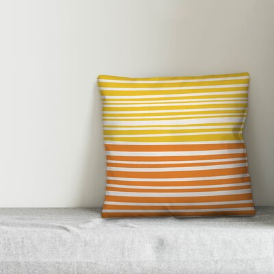 Khoury Abstract Stripes Indoor/Outdoor Lumbar Pillow by Highland Dunes Design