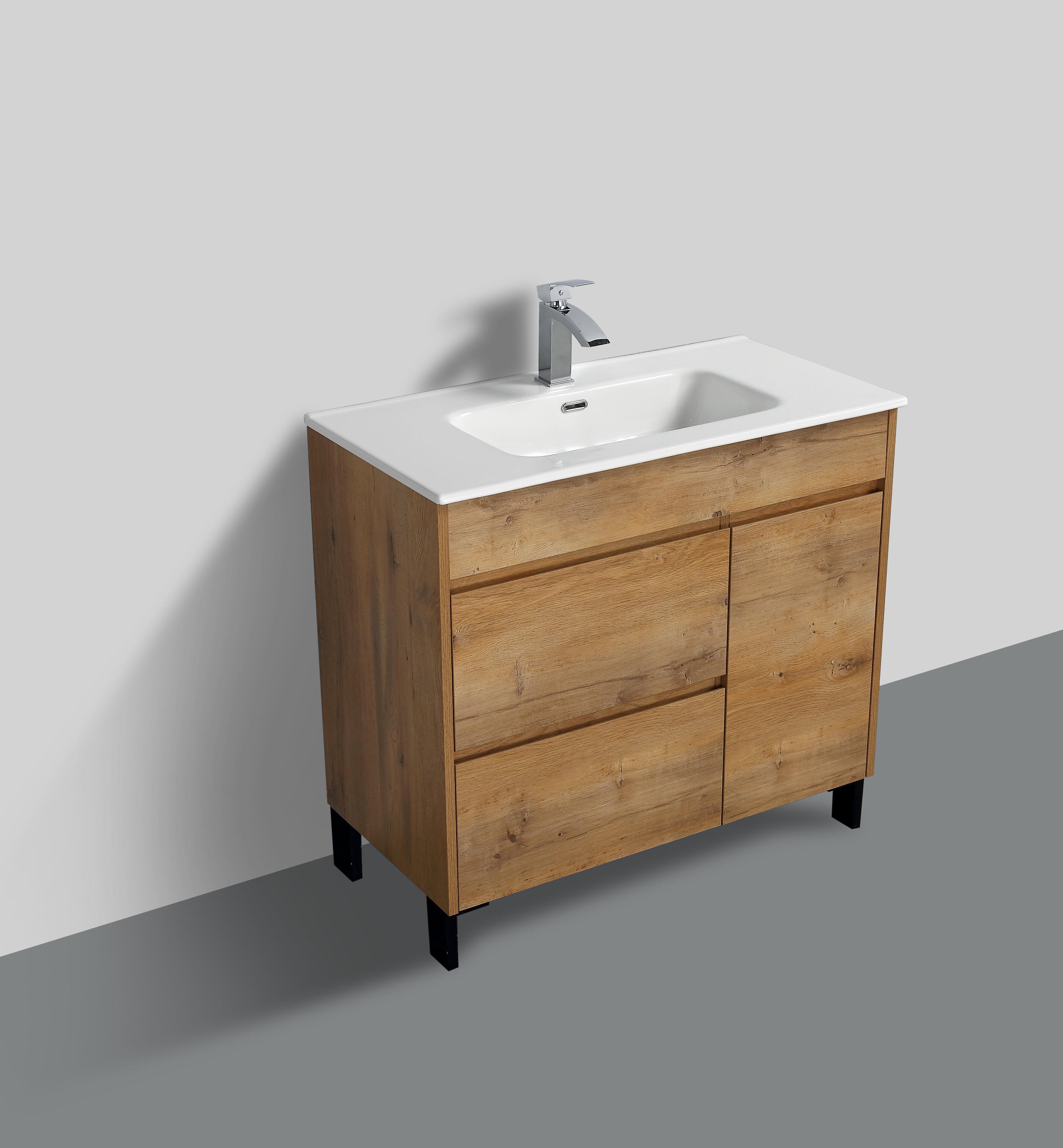 """Chumasero 12"""" Single Bathroom Vanity Set"""