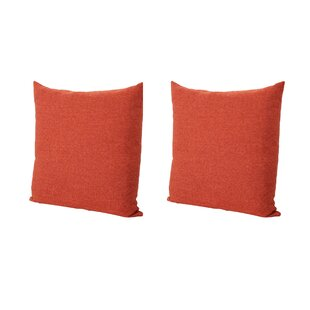 Barco Fabric Square Throw Pillow (Set of 2)