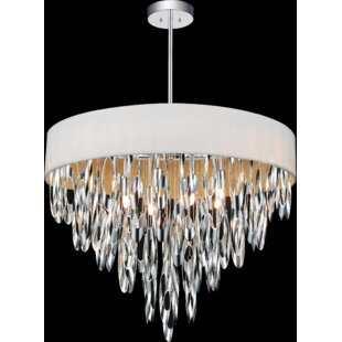 CWI Lighting Excel 8-Light Drum Chandelier