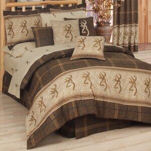 Buckmark Comforter Set