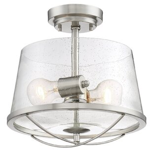 Regan 2-Light Semi Flush Mount..
