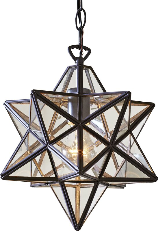 Lingenfelter 1-Light Foyer Pendant