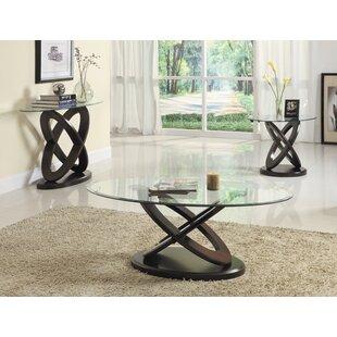 Orren Ellis Angello 3 Piece Coffee Table Set
