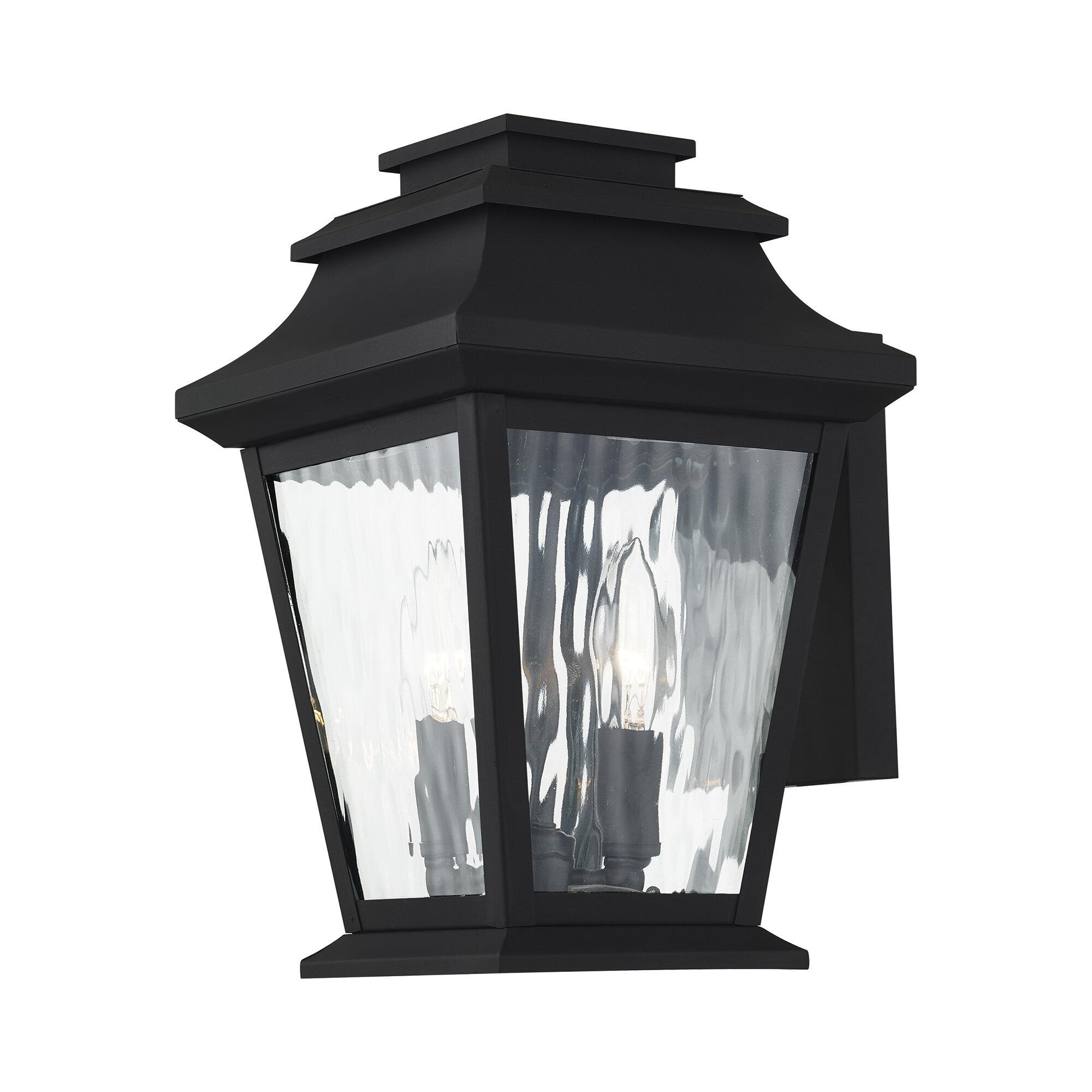 Campfield 2 Bulb 12 5 H Outdoor Wall Lantern Joss Main