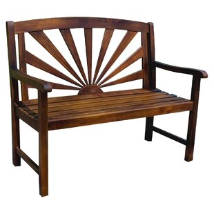 Pine Hills Outdoor Wood Garden Bench