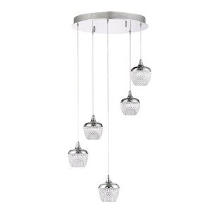 Villegas 5-Light LED Pendant by Latitude Run