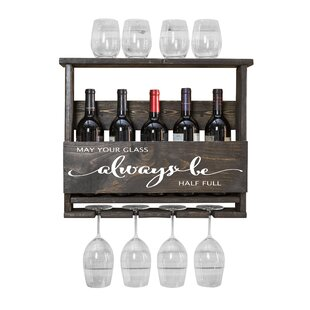 Bernon Always Be 4 Bottle Wall Mounted Wi..