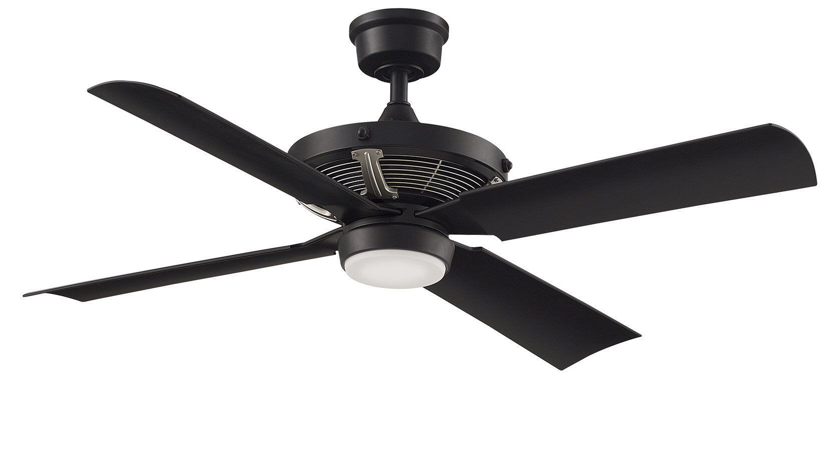 Fanimation 52 Pickett 4 Blade Outdoor Led Standard Ceiling Fan With Wall Control And Light Kit Included Reviews Wayfair