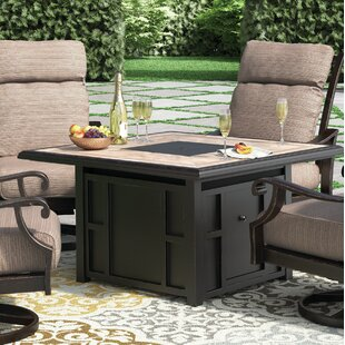 Hamer Aluminum Propane Fire Pit Table