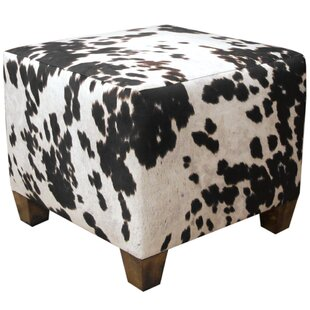 Ponca City Cube Ottoman by Loon Peak