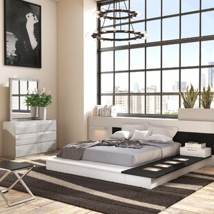 Modern King Platform (Box Spring Not Required) Bedroom Sets | AllModern