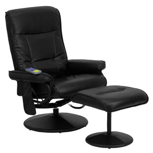 Heated Reclining Massage Chair & Ottoman