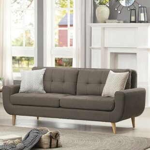 Inexpensive Bunker Lake Tufted Wooden Sofa by Latitude Run Reviews (2019) & Buyer's Guide