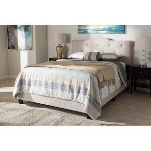 Lavenia Upholstered Panel Bed by Charlton Home