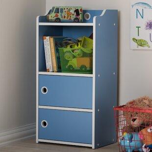 Zoomie Kids Kopf Standard Bookcase