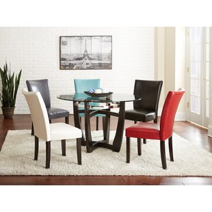 Blackburn Upholstered Dining Chair (Set of 2) by Wade Logan