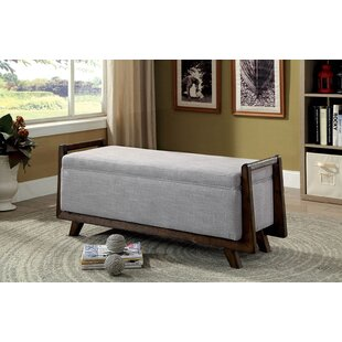 Craner Upholstered Storage Bench by World Menagerie