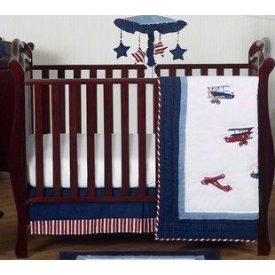 Online Reviews Vintage Aviator 4 Piece Crib Bedding Set BySweet Jojo Designs