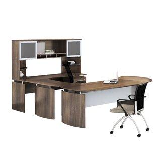 Medina 9 Piece Standard Desk Office Suite by Mayline Group