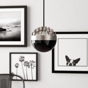 Wymore 1-Light Mini Globe Pendant by Mercury Row