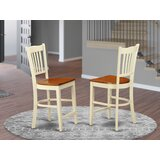 Groton Solid Wood 24 Counter Stool (Set of 2) by Wooden Importers